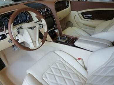 This features a great interior detail service on a Bentley.